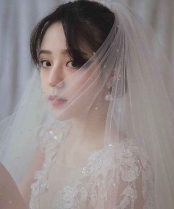 做新娘子的这一天就是世界上最美的女人